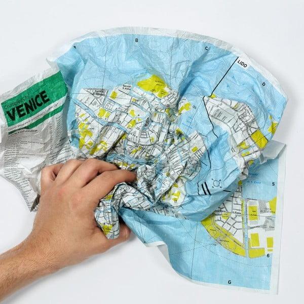 Pokrčená mapa Rím