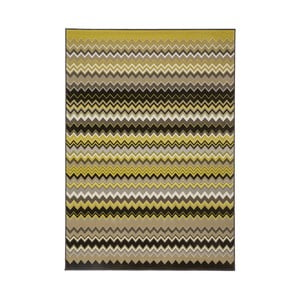 Žlto-čierny koberec Kayoom Stella 700 Yellow, 80x150cm