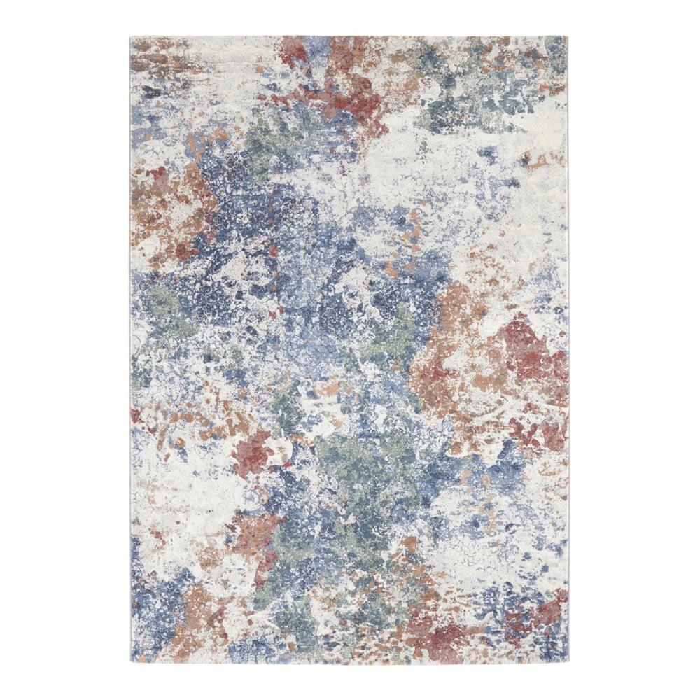 Svetlomodro-zelený koberec Elle Decor Arty Fontaine, 160 × 230 cm