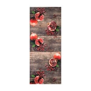 Vysokoodolný koberec Webtappeti Melograna, 58 x 80 cm