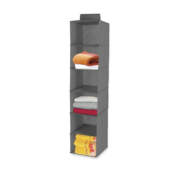 Závesná polička Six Shelves Grey