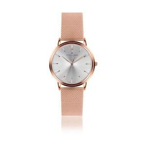 Unisex hodinky s antikoro remienkom v ružovozlatej farbe Frederic Graff Rose Breithorn Rose zlaté Mesh