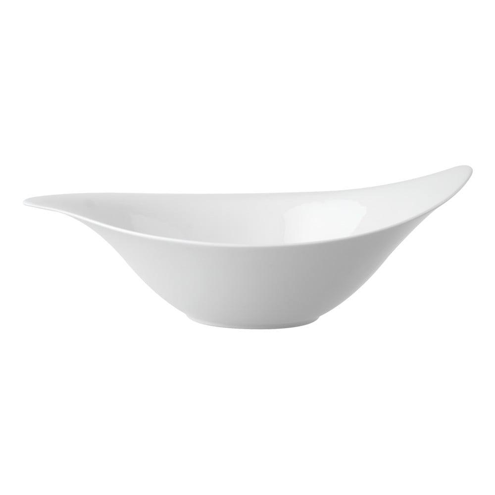 Biela porcelánová miska na šalát Villeroy & Boch New Cottage, 36 x 24 cm