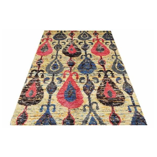 Ručne tkaný koberec Ikat H9 Mix, 140x200 cm