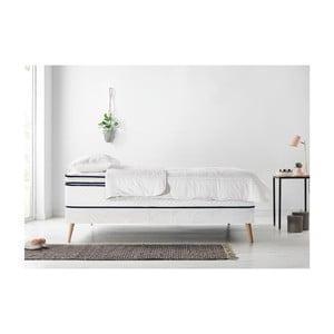 Set dvojlôžkovej postele, matraca a paplóna Bobochic Paris Simeo, 160 x 200 cm