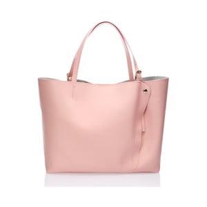 Kožená kabelka Graema, ružová