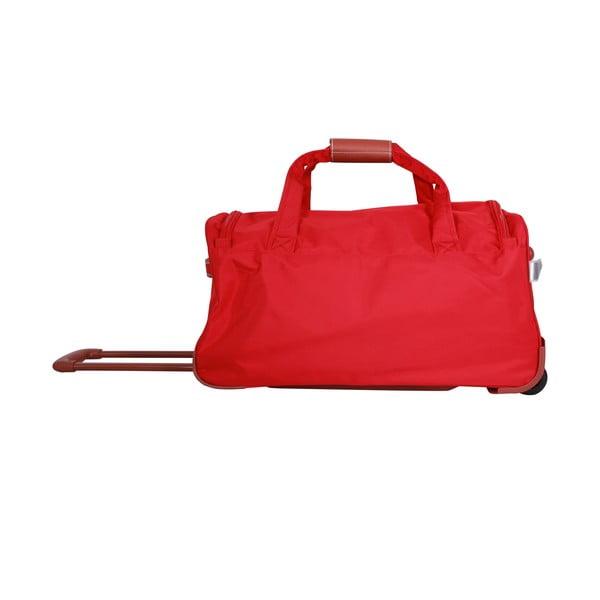 Taška na kolieskach Jean Louis Scherrer Red, 60 l