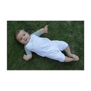 Bavlnené detské body KlokArt Dobrý deň, veľ. 6-12 mesiacov