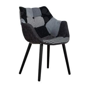 Stolička Eleven Patchwork Grey