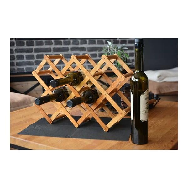 Bambusový stojan na vínne fľaše Bambum Olivia