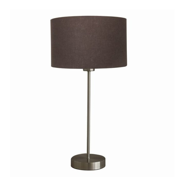 Stolná lampa Efficient Satin/Brown