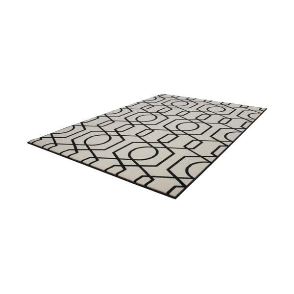Čierno-sivý koberec Kayoom Stella 400 Black, 200x290cm
