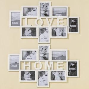 Sada 2 nástenných fotorámikov Boltze Love Home