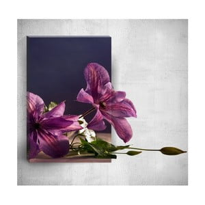 Nástenný 3D obraz Mosticx Flowers On Table, 40×60 cm