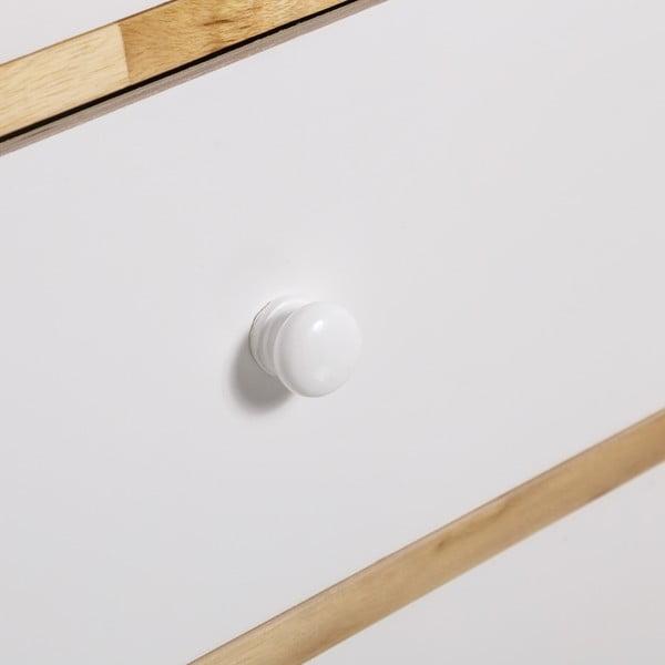 Komoda so šuplíkmi Skandy, 94 cm