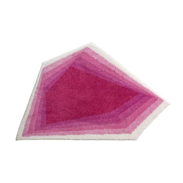 Kúpeľňová predložka Kolor My World XI 82x130 cm, ružová