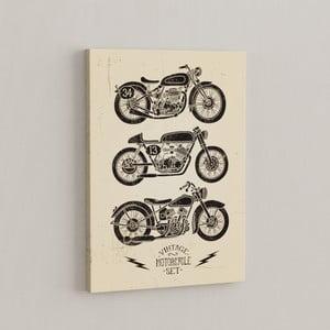 Obraz Retro motorky, 50x70 cm