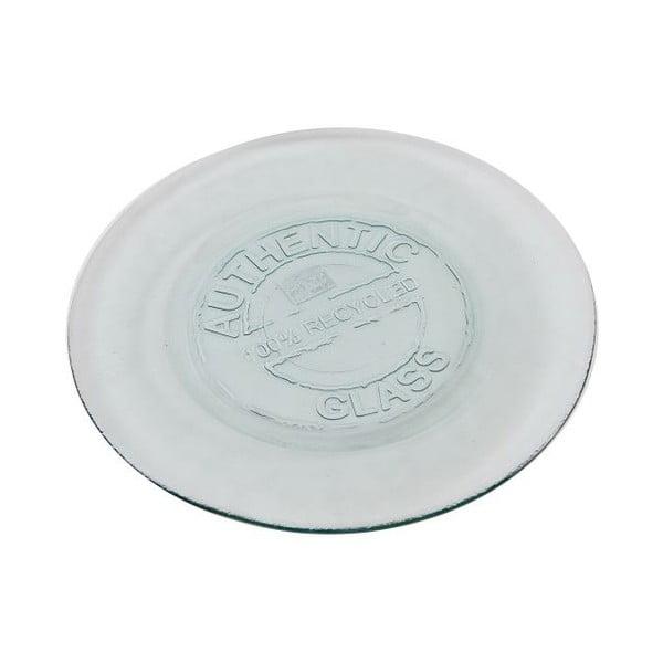 Sklenený tanier Authentic Vintage, 20 cm
