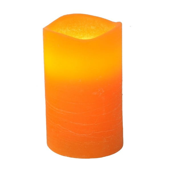 LED sviečka Real Orange, 12 cm