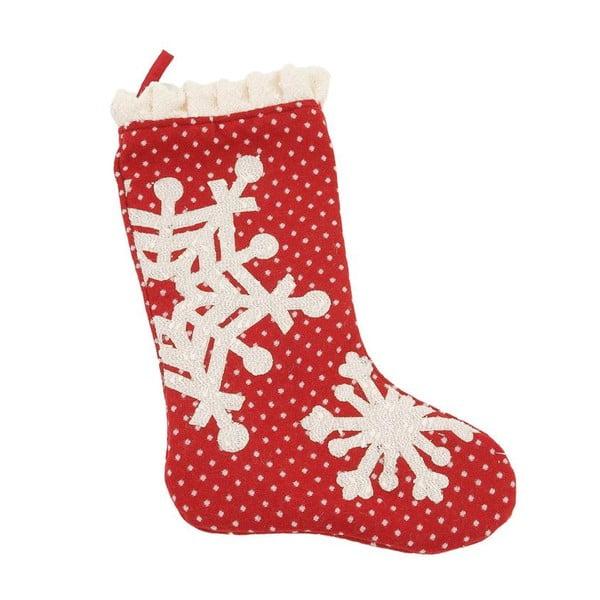 Ponožka na dárky Snowflake