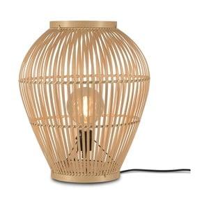 Stojacia jutová lampa Good&Mojo Tuvalu, ⌀ 42 cm