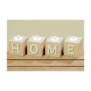 Sada 4 stojanov na sviečku Boltze Home