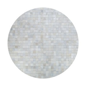 Kožený koberec Pipsa Natural, ⌀160 cm