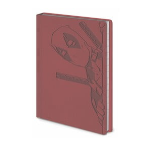 Linajkový zápisník A6 Pyramid International Deadpool, 56 strán