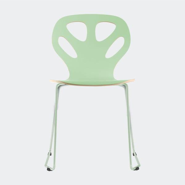 Stolička Maple, mentolová