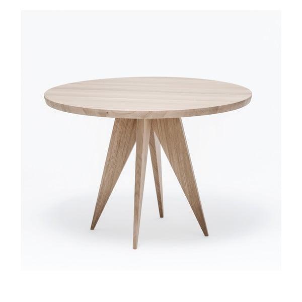 Dubový jedálenský stôl Medusa, Ø 110 cm