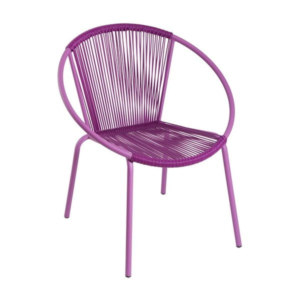 Kreslo Leon Purple, 64x70x50 cm
