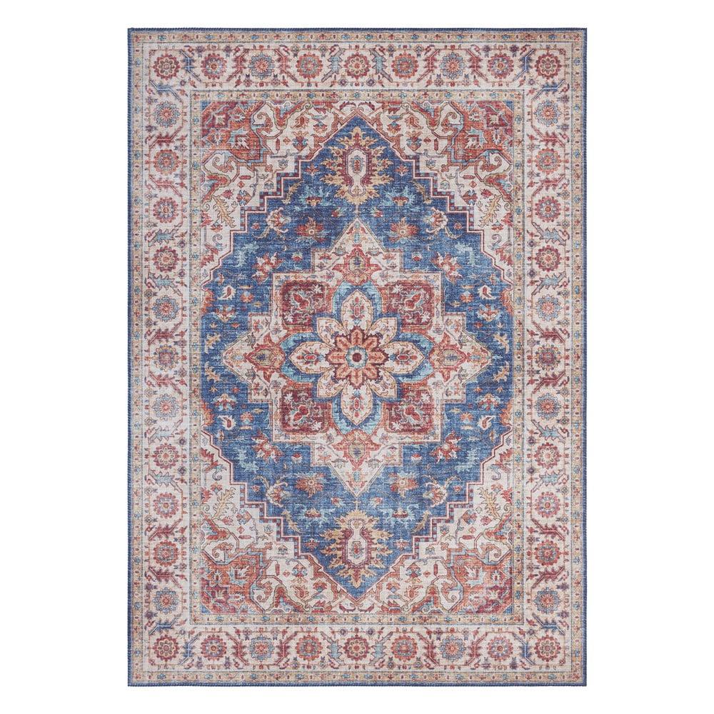 Modro-červený koberec Nouristan Anthea, 120 x 160 cm