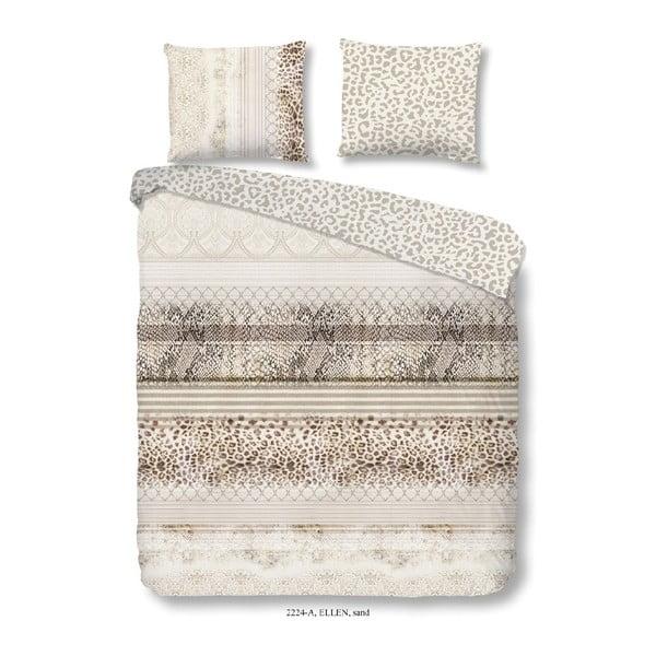 Obliečky na jednolôžko zo 100% bavlny Good Morning Leopard, 140×200 cm