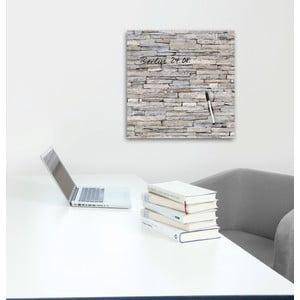 Magnetická tabuľa Eurographics Stacked Stones, 50 x 50 cm