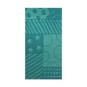 Koberec Esprit Stars Stripes Turquoise, 170x240 cm
