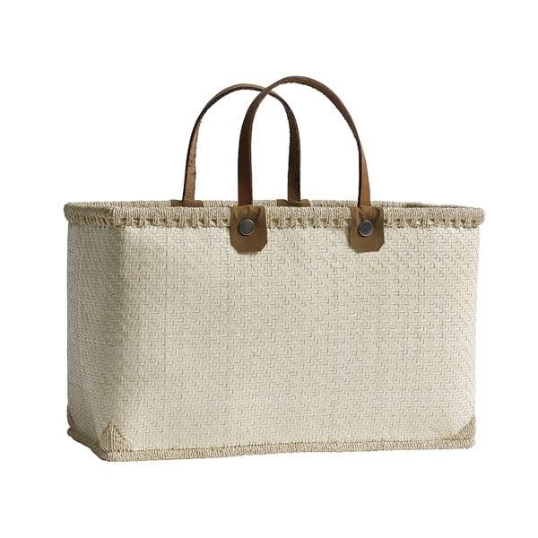 Nákupná taška Shopping, krémová