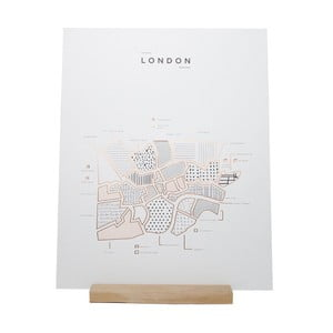 Plakát Roam by 42 Pressed London