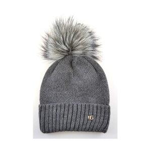 Dámska čiapka Klasyk Dark Grey