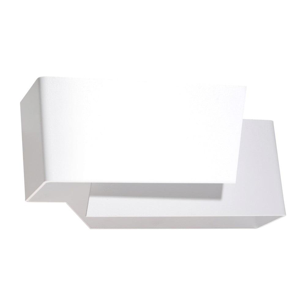Biele nástenné svietidlo Nice Lamps Tolestu