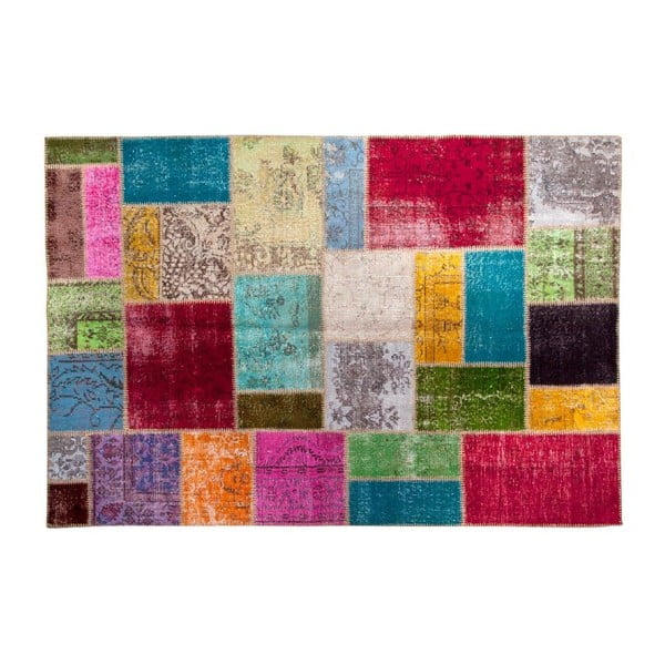 Vlnený koberec Allmode Multi Yan, 180x120 cm