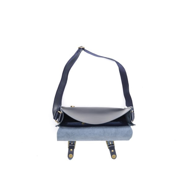 Kožená kabelka Renata Corsi 399 Bluscuro