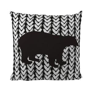 Vankúš Black Shake Black Bear, 50x50cm