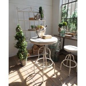 Barový stolík Vintage White