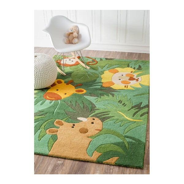 Ručne tuftovaný koberec nuLOOM Jungle,107x168cm