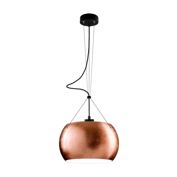 Svetlo MOMO, copper/black/black