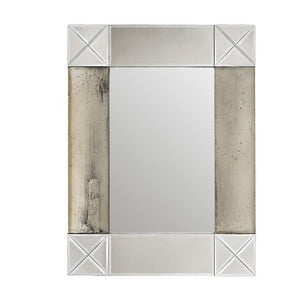 Nástenné zrkadlo In Silver, 64x83 cm