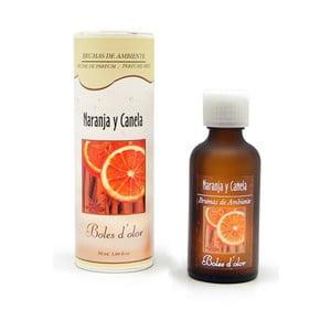 Esencie s vôňou pomaranča a škorice do elektrického difuzéru Aromabotanical, 50 ml