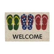 Rohožka Hamat Welcome Slippers, 40x60cm