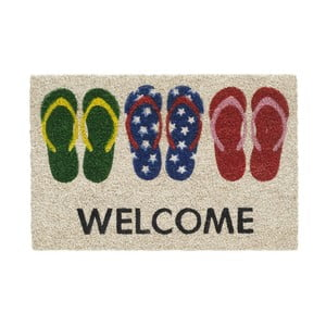 Rohožka Hamat Welcome Slippers, 40 x 60 cm