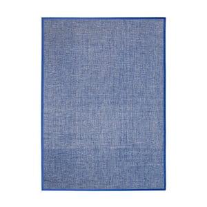 Modrý koberec MOMA Bios Liso, 60×110cm